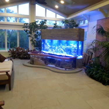 Custom Aquarium By Living Art Aquatics